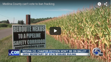 Medina County Can Vote to Ban Fracking